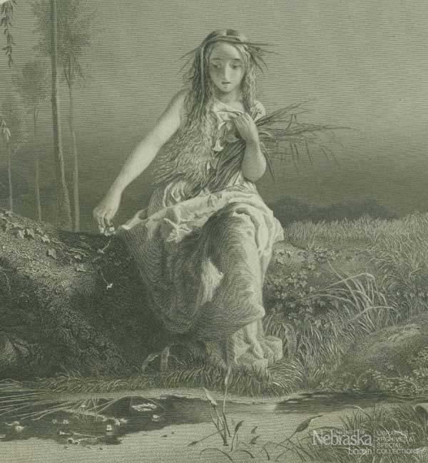 Plate of Ophelia