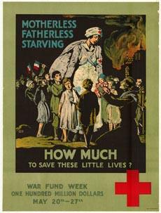 Red Cross War Fund Week poster