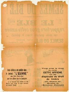 Backside of C. Hautot's poster