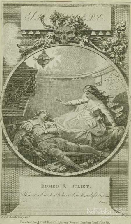 Plate of Ophelia discovers Romeo's body