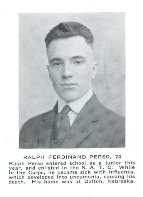 Ralph Perso death notice