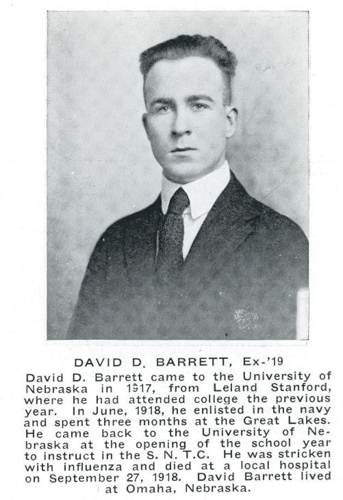 David Barrett Death Notice