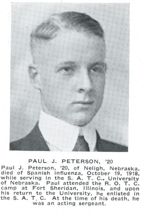 Paul Peterson death notice
