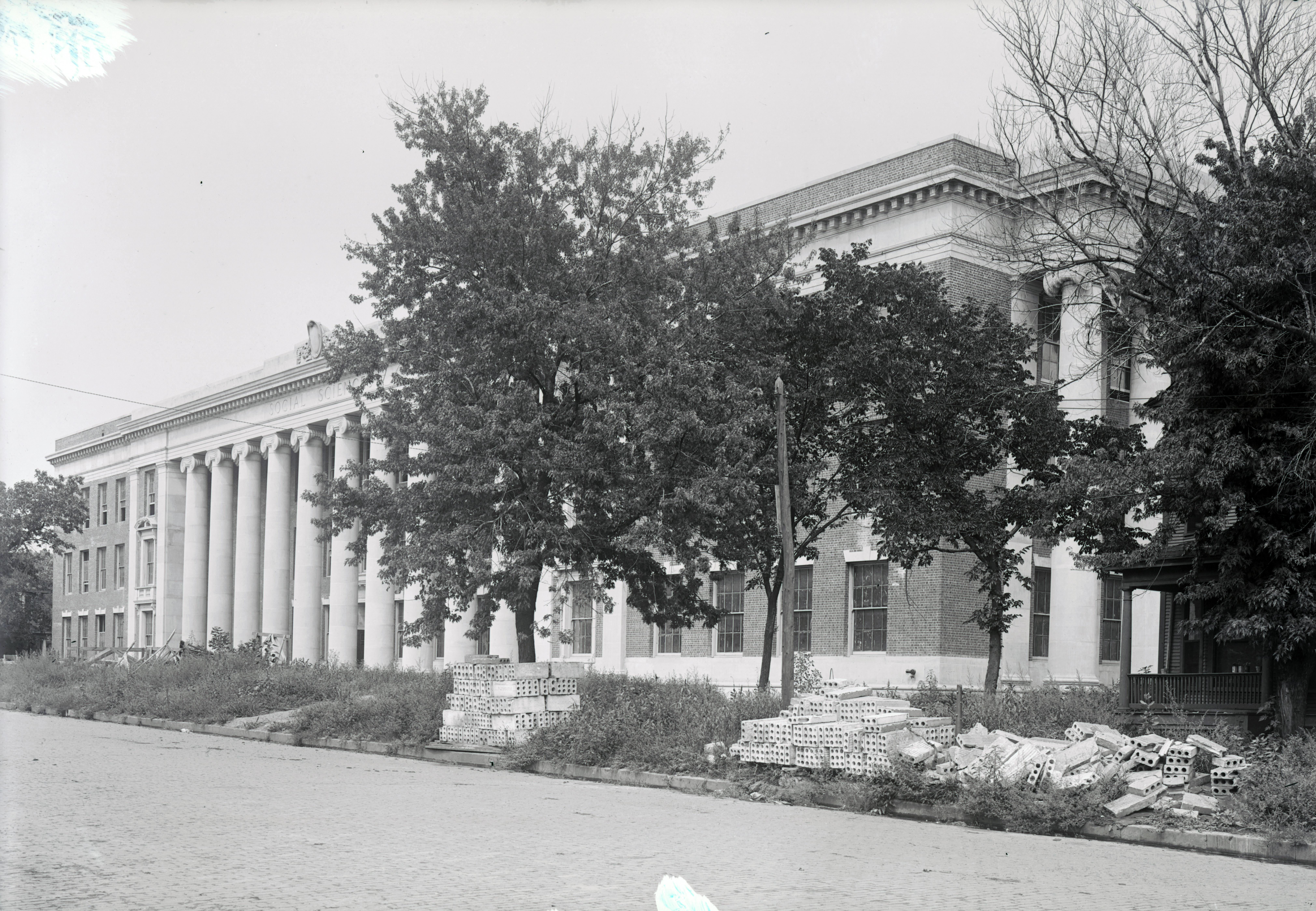 Exterior of Social Sciences Hall