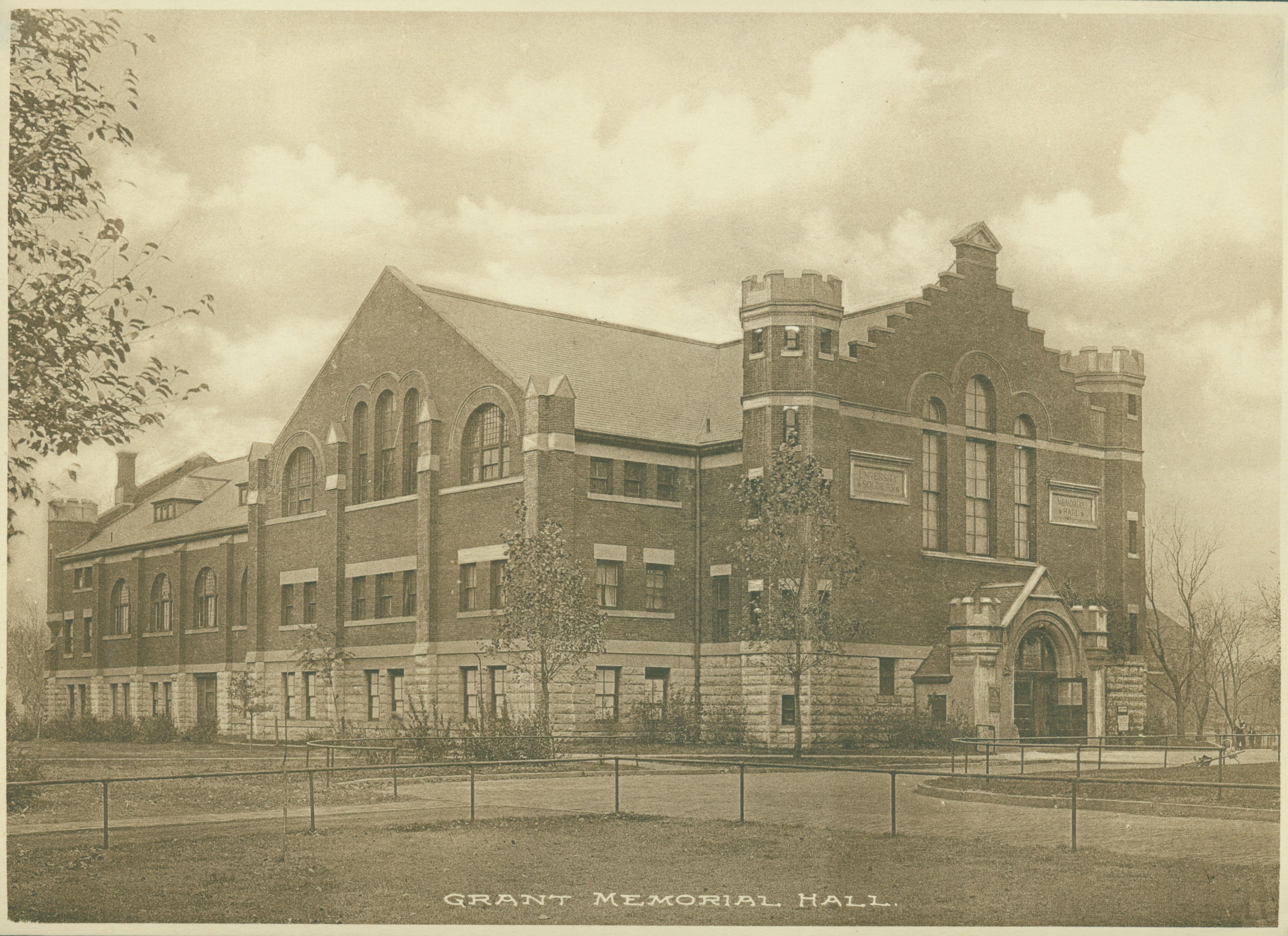 Exterior of Grant Memorial Hall