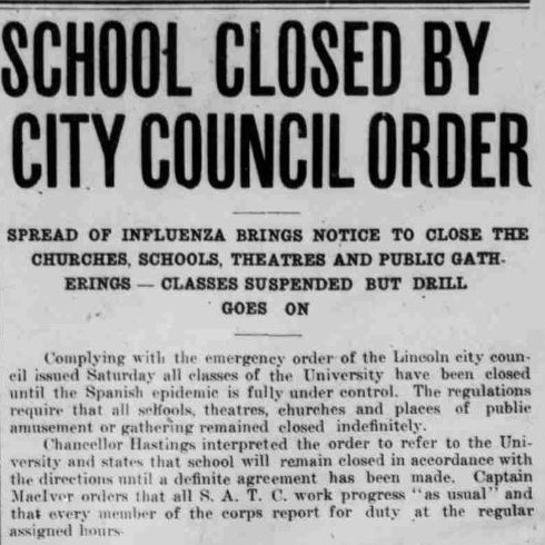 School closure article